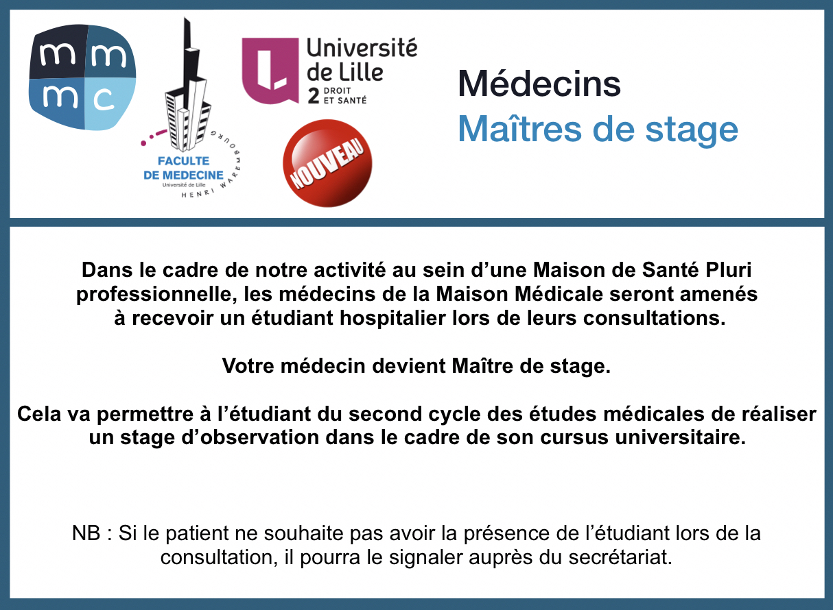 Formation maitre de stage universitaire